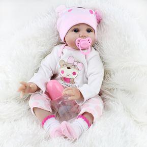 694975ede NPK adorable simulación realista recién nacido muñeca de silicona