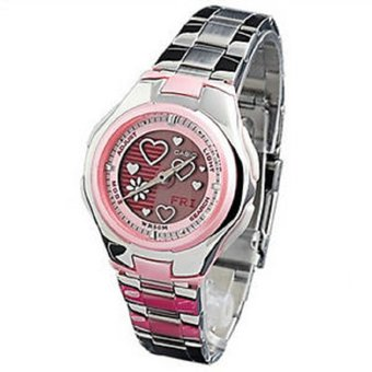 8ba1b9b507b1 Compra Reloj Casio Poptone LCF-10D-4A Rosado Para Mujer online ...