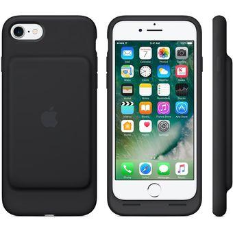73bda5b7552 Agotado Funda Batería Apple IPhone7 Y 8 Color Negro Smart Battery Case