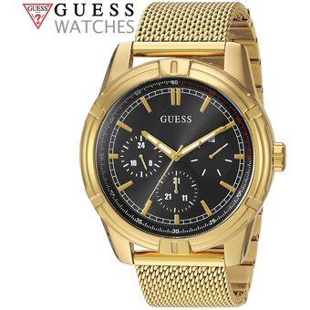 U0965g2 Negro Acero Inoxidable Dorado Guess Multifuncional Reloj doexCB