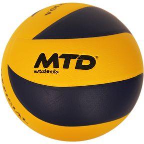 Pelota Balón de Voley MTD Peso y Medida Oficial - Amarillo ac0a2693fab97