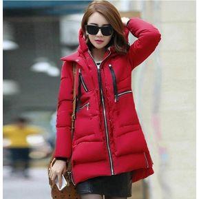 2236c90c4845b Chaquetas y abrigos Mujer down alternative Fashion-Cool rojo