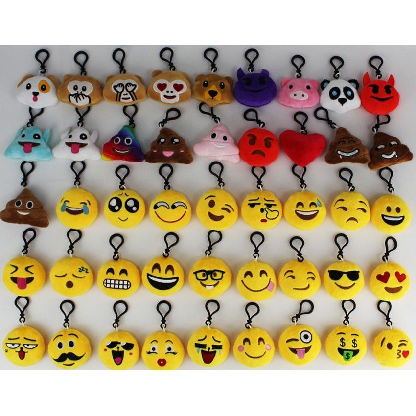 20 PCS Creative Plush Doll - Colgantes Regalo Cartoon Cute Expresión Facial Decoraciones Colgantes Llaveros Con Hook OE599TB12UJDALMX X3NWwKUT X3NWwKUT cg5msAUx