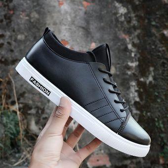 55792fc2 Nuevos zapatos de hombre zapatos casuales zapatos de moda coreanos zapatos  zapatos deportivos-Negro