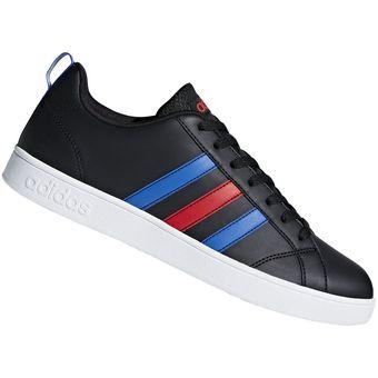 Compra Zapatilla Adidas VS Advantage Para Hombre - Negro online ... 09aa86bf6f403