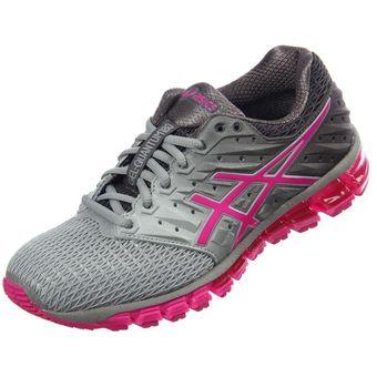 59cf34fa9b3 Compra Zapatillas Running Mujer Asics Gel Quantum 180 2-Gris online ...