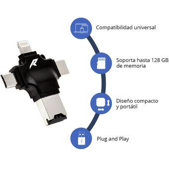 ad765afbb3e Compra Memoria Externa Para Celular Y Lector MicroSD, Micro USB Y ...