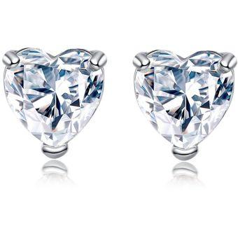 b7207745864a Compra Aretes Corazón Circonios Amour En Plata 925 online