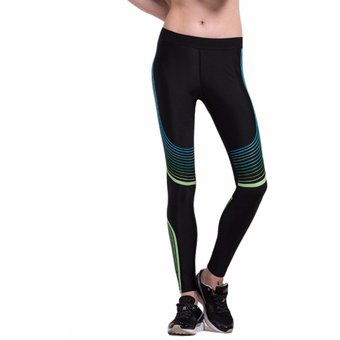 Yoga Pantalones Cintura alta Deportivos Fitness yoga Ropa de compresión  para Mujer Leggings - Negro  3291caa744f8