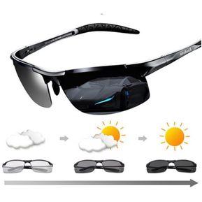 0146f5fce6 Gafas de sol hombre fotocromaticas con UV400 y vidrios polarizados