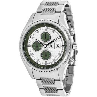 47041d7e04c8 Compra Reloj Armani Exchange AX1613 Para Caballero-Plateado online ...