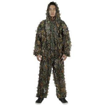 21549cd34 Compra 3D Leafy Camouflage Jungle Bionic juego conjunto de caza ...