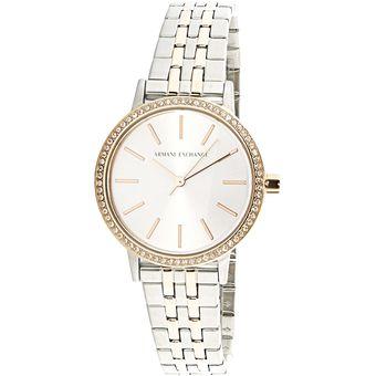 5d1511fdef4b Compra Reloj Armani Exchange AX5542 para Dama-Plateado online ...