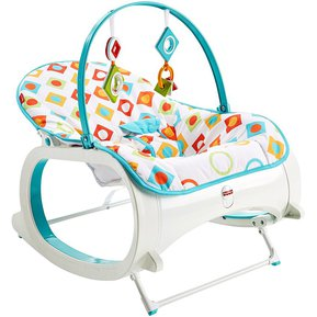 2dea3c257 Silla Mecedora Vibradora Bebe Diamantes Fisher Price CMP83 Blanco