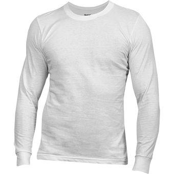 amplia selección precio moderado tienda Boston - Polo Manga Larga - Blanco