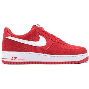hombres nike air force 1 rojo