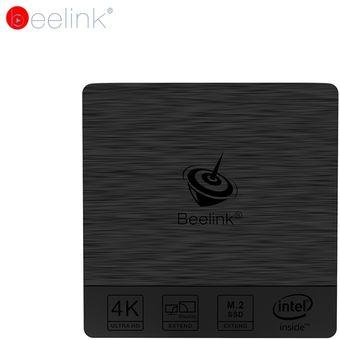Negro - Eu Plug Beelink BT3 Pro Mini PC 2.4