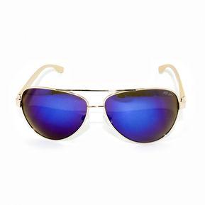 4fe87cfcf3 Lente De Sol Mb Lens Aviador MBS291B-1 - Dorado, Azul