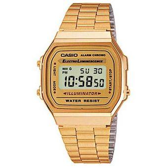 d0edc9c7e551 Reloj Casio A-168WG-9W-Dorado