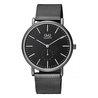8368bbc5092 Compra Reloj Hombre Marca Q&Q Modelo QA96j402y Pulso Malla Original ...