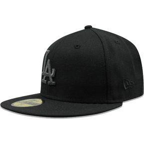 7d1ed0e5f9771 Gorra New Era 59 Fifty MLB Dodgers Met Negro