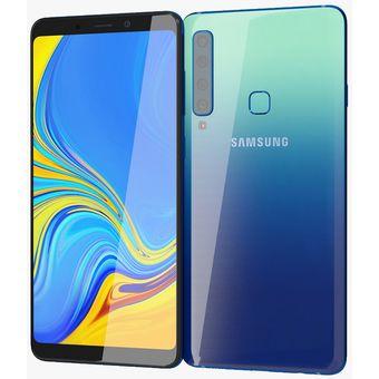 Galaxy A9 2018 dual sim 6+128gb cámara triple resolución- azul