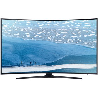 044214b9f3b Agotado Televisión Samsung UN55KU6300FXZX 55 Pulgadas Curva Smart Tv 4K HDR  Premium-Negro