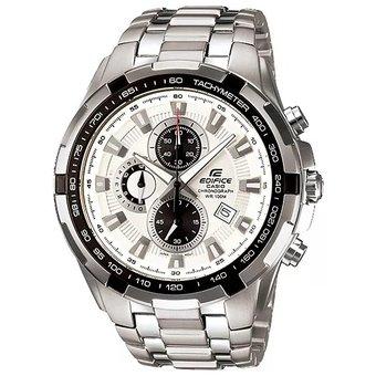 641ab2a4bebd Compra Reloj Casio Hombre Edifice Ef 539D7a Crono Acero - Blanco ...
