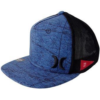 76b928297056 Gorra para Hombre Hurley-Azul