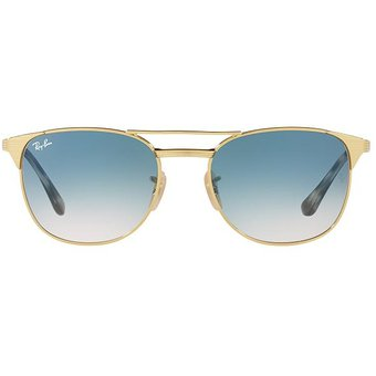 6f8db9016a Agotado RayBan 3429M 001/3F SELLO Marco Dorado Lente Azul Gradiente Gafas  De Sol Italinas UV400
