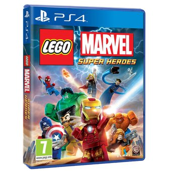 Lego Marvel Superheroes Juego Para Ps4 Knasta