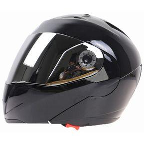 1c3a8d56c45 Jiekai 105 Casco Integral Electromobile Motocicleta Lente Doble Casco  Protector, Tamaño: XL (negro