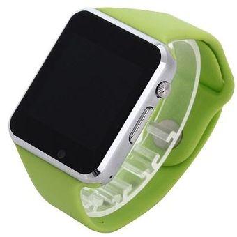 bbffc4301fa0 A1 Reloj De Pulsera Bluetooth Smart Watch Deporte Podómetro Smartwatch  (verde)