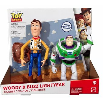 Compra Toy Story - Pack Woody Y Buzz Lightyear Figura Articulada ... 8094bee19dc