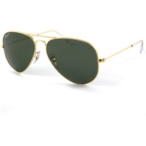 lentes ray ban aviator full color negro