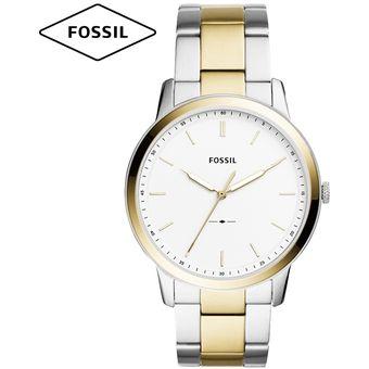e517bd2a4ed5 Reloj Fossil Minimalist FS5441 Ultra Delgado Acero Inoxidable - Plateado  Dorado