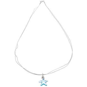 09bfcdf96547 Compra Collar Con Crystals Swarovski En Plata 925 Y Piel Jands ...