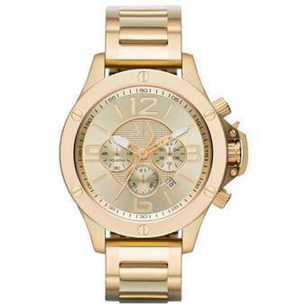 cf1bad6a761a Compra Armani Exchange - Reloj Analógico Hombre X1504 - Dorado ...