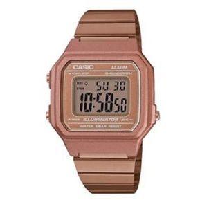 60c47352c40e Reloj Casio Retro B650wc-5a Digital Oro Rosa -Cobrizado