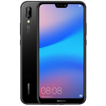 Celular Huawei P20 Lite Negro 32gb 4g Lte 4gb Ram 24 Mp Dual