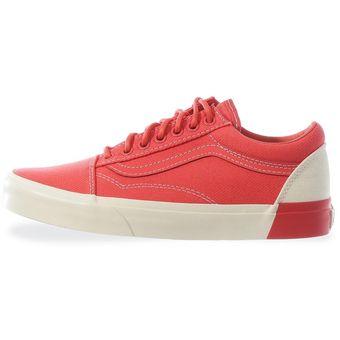 Compra Tenis Vans Old Skool DX - 38G3MS6 - Coral - Mujer online ... 1a4d2c08b32