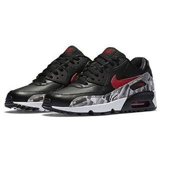 f982227c8ffa5 Agotado Zapatos Deportivos Niño Nike Air Max 90 Leather Big Kids-Negro