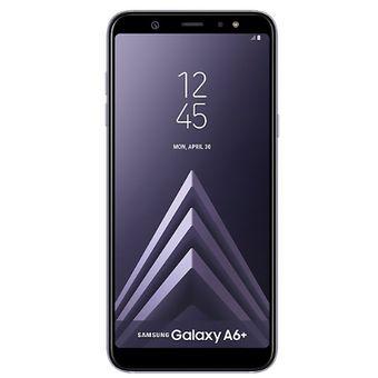 Celular Samsung Galaxy A6+ Violeta Libre teléfono smartphone linio smartphones 2019