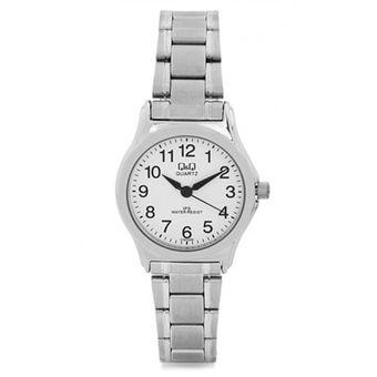 8798e1de5107 Reloj Q Q Dama Modelo C197j204y Resistente Al Agua Pulso En Acero  Inoxidable Analogo Original