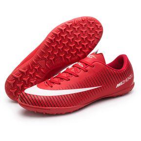 Fashion Boy fútbol fútbol entrenamiento deporte zapatos-Rojo ef1a8d02da8