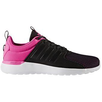 brand new 1de54 d8724 Adidas - Zapatillas Mujer CF Lite Racer W - Negro Y Fucsia
