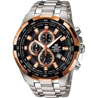 78505d397 Agotado Reloj Casio Edifice EF-539D-1A5V Analógico Hombre - Plateado Y  Dorado