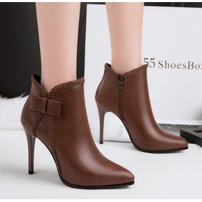 Fashion Tacon Cool Marron De Botas Para Mujer PEqxOP8n