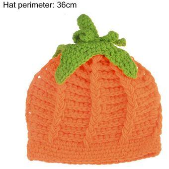 ER Lindo Bebé Recién Nacido Halloween Partido Sombrero De Calabaza Cómodo  Crochet Hecho Punto - Naranja 1017f1050ec6a