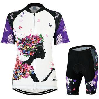 ed4c095bb6 Compra Ropa Ciclismo Mujer Verano Equipacion De Ciclista Manga Corta ...